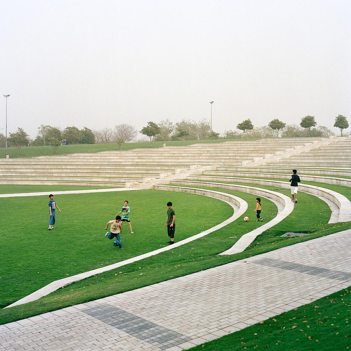 Amphithéâtre du parc Zabeel de Dubaï.