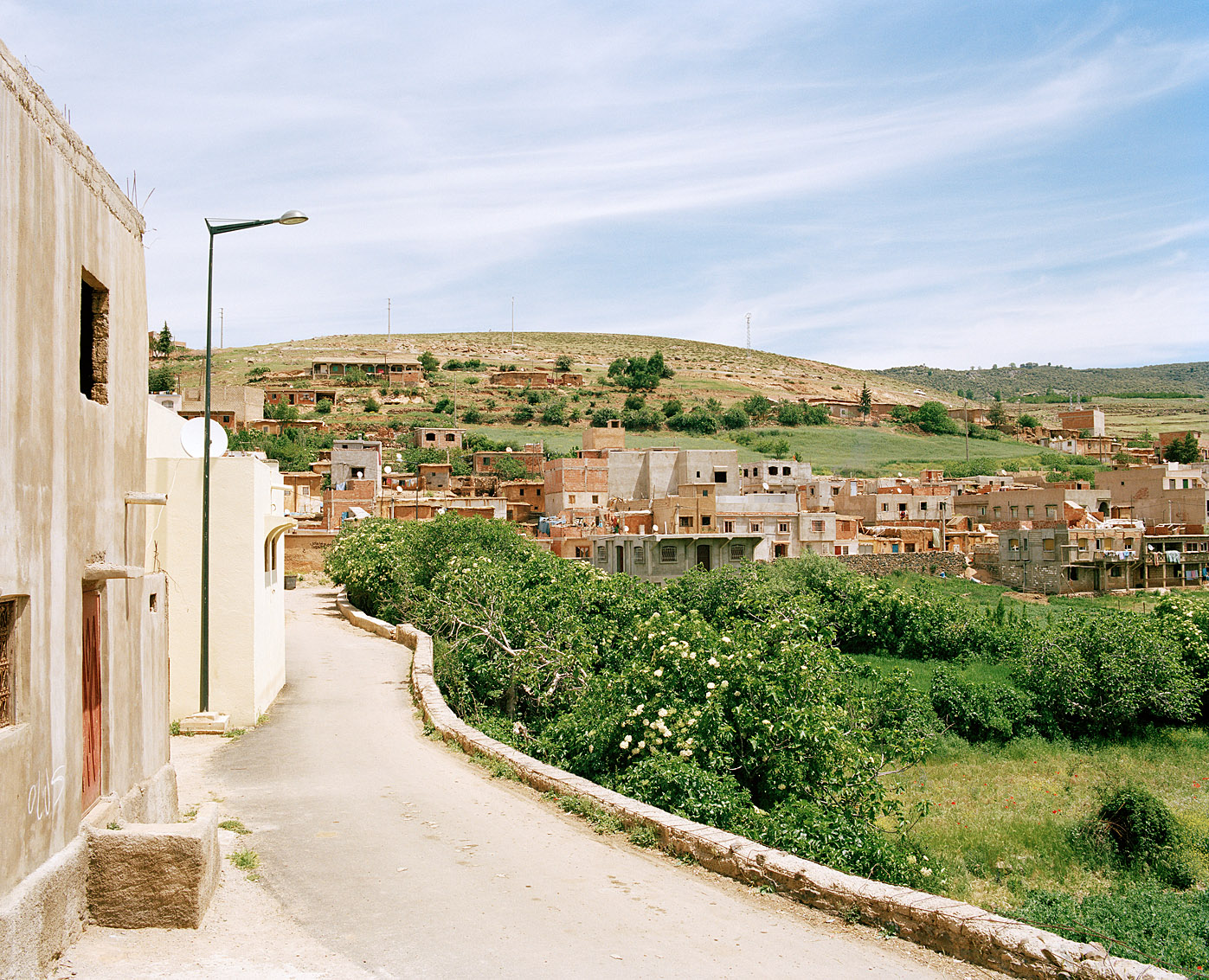 Village de Ben Smim, Maroc.