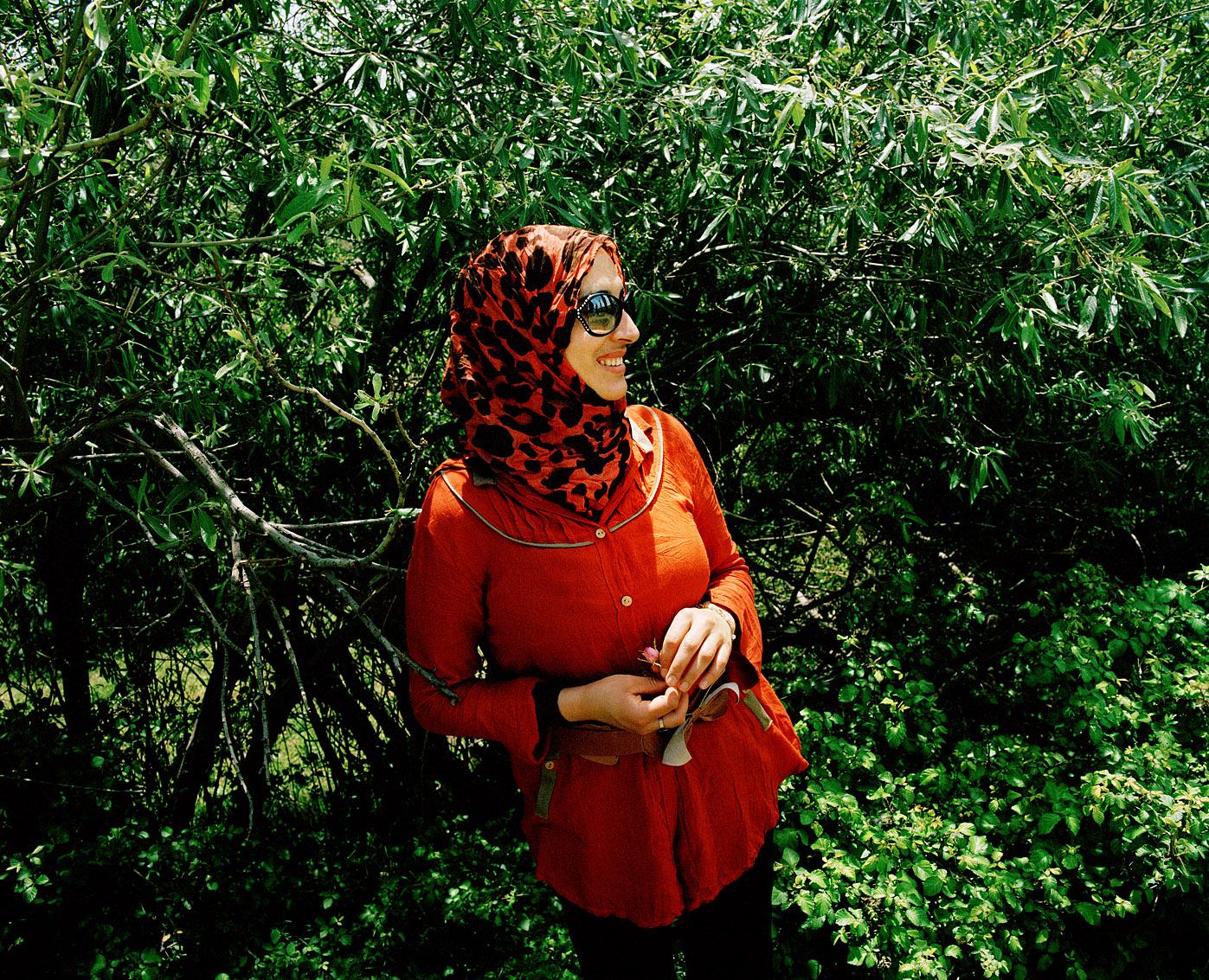 Najat est la secrétaire générale de la coopérative de femmes Achifae (guérison en Berbère) du village de Ben Smim, Maroc.