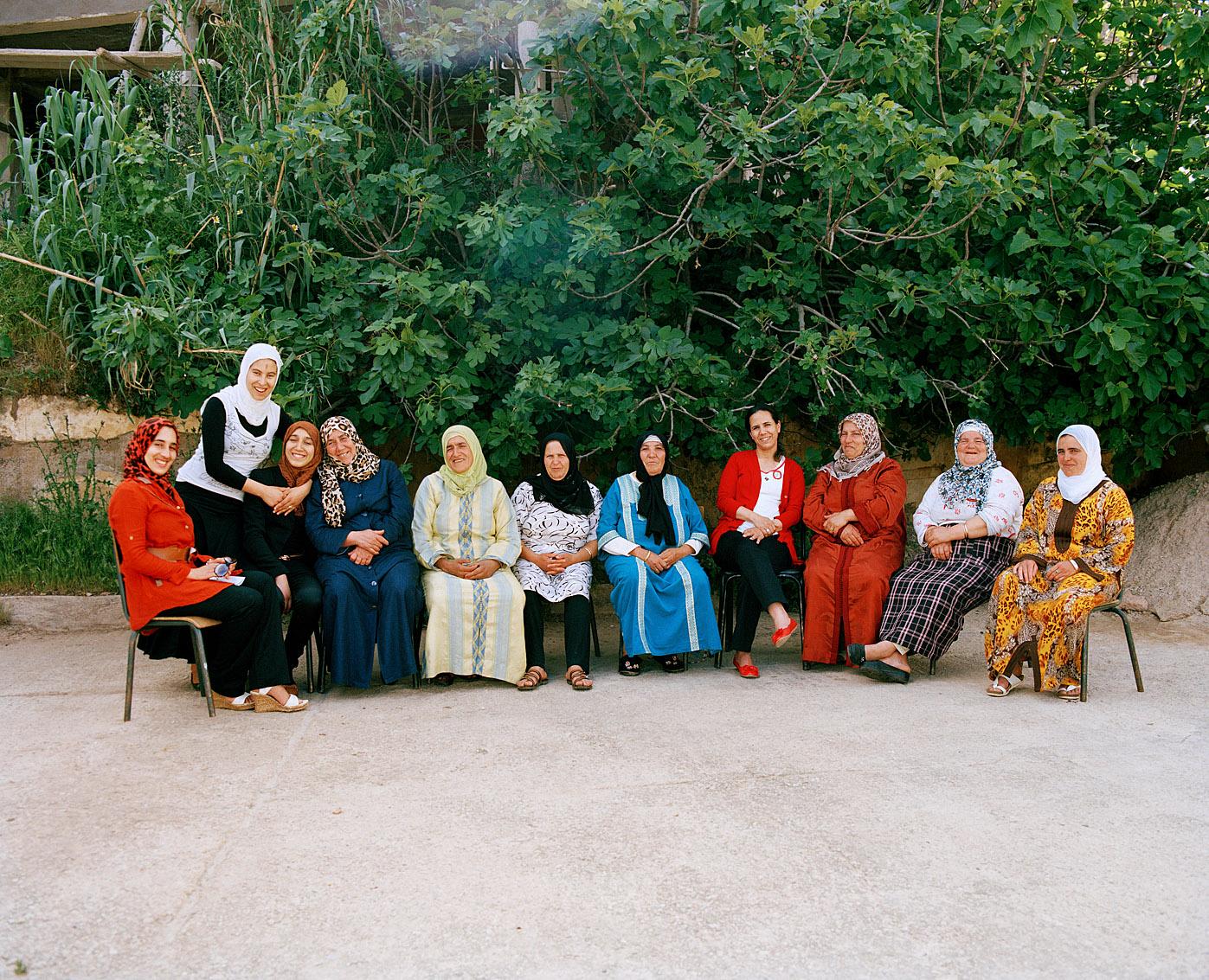 Les femmes de la cooperative Achifae (guérison en Berbère) du village de Ben Smim, Maroc.