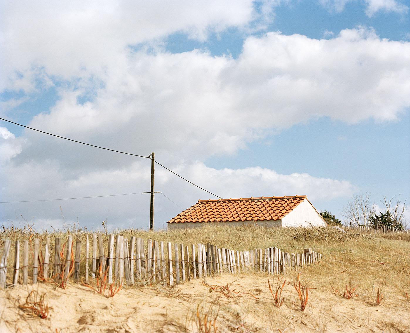 """L'Aiguillon sur mer en """"zone noire"""", Vendée."""