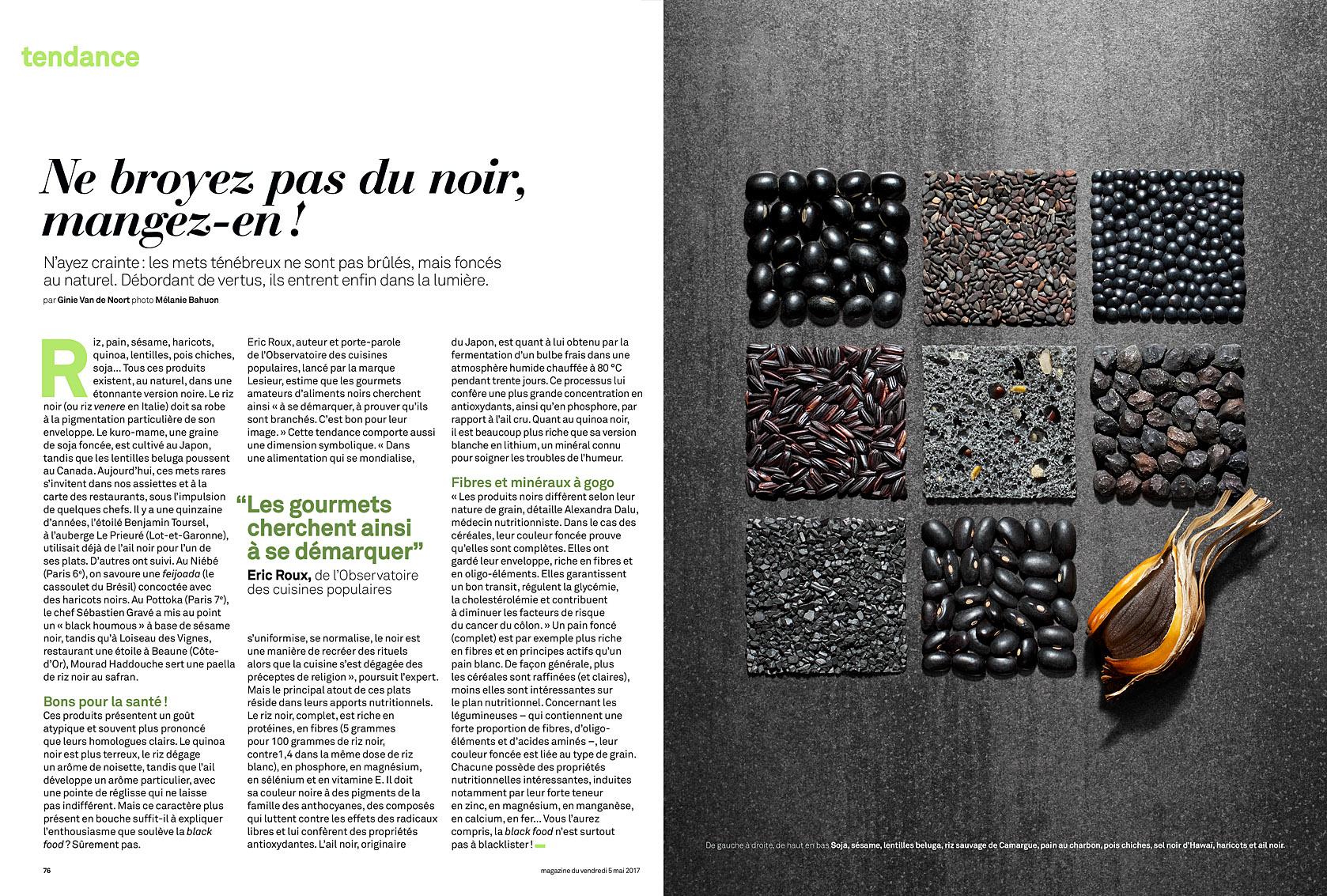 Le Parisien Magazine du 5 mai 2017.