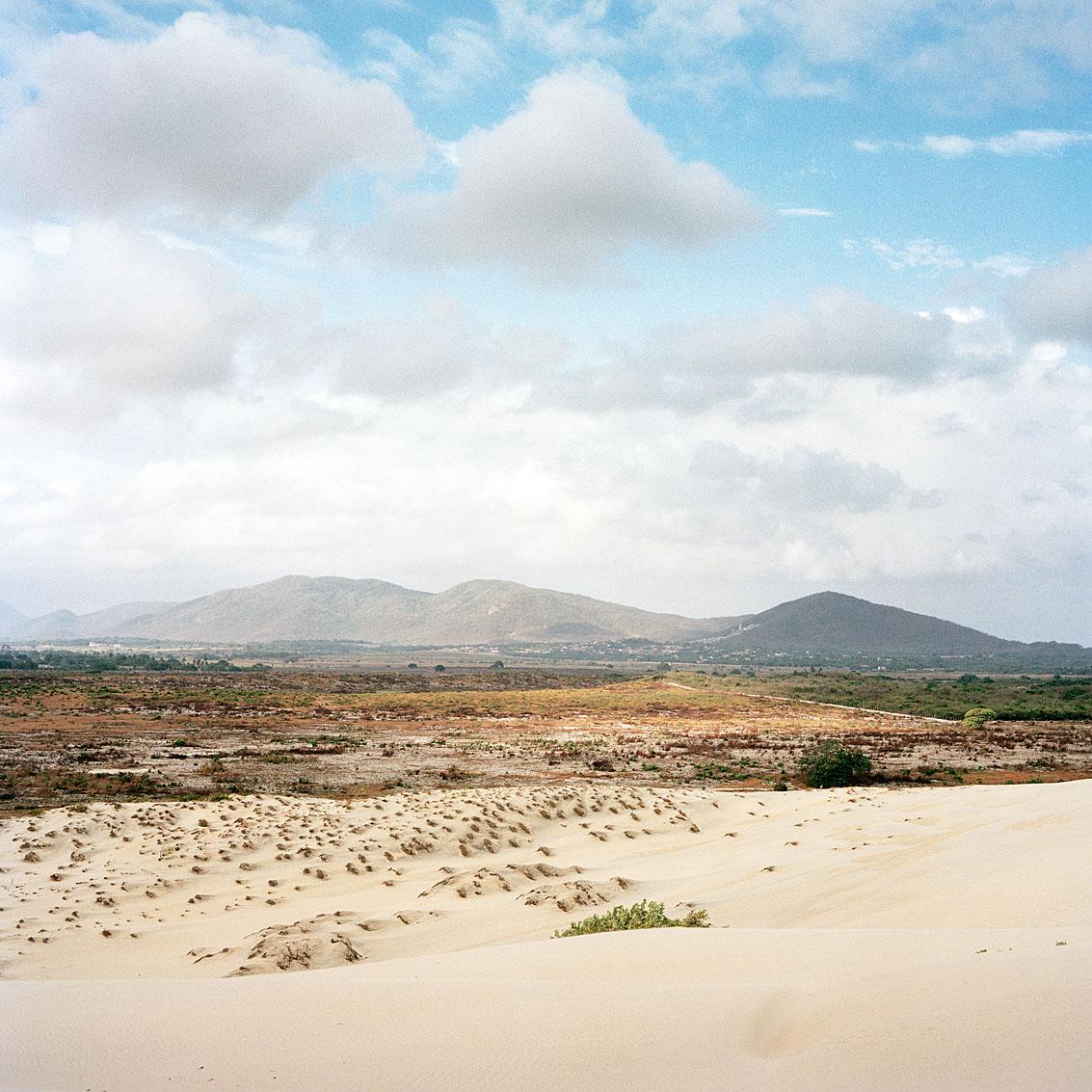 Dunes de Cumbuco, à l'ouest de Fortaleza.