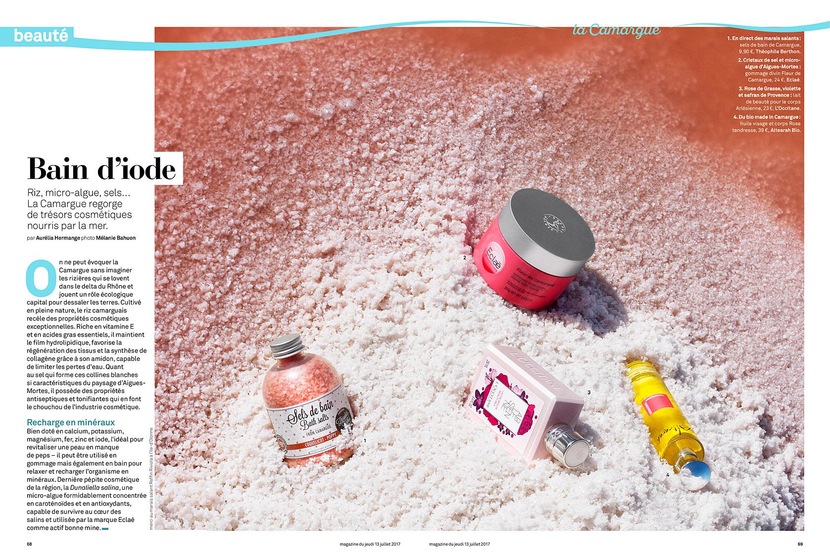 Le Parisien Magazine du 13 juillet 2017.