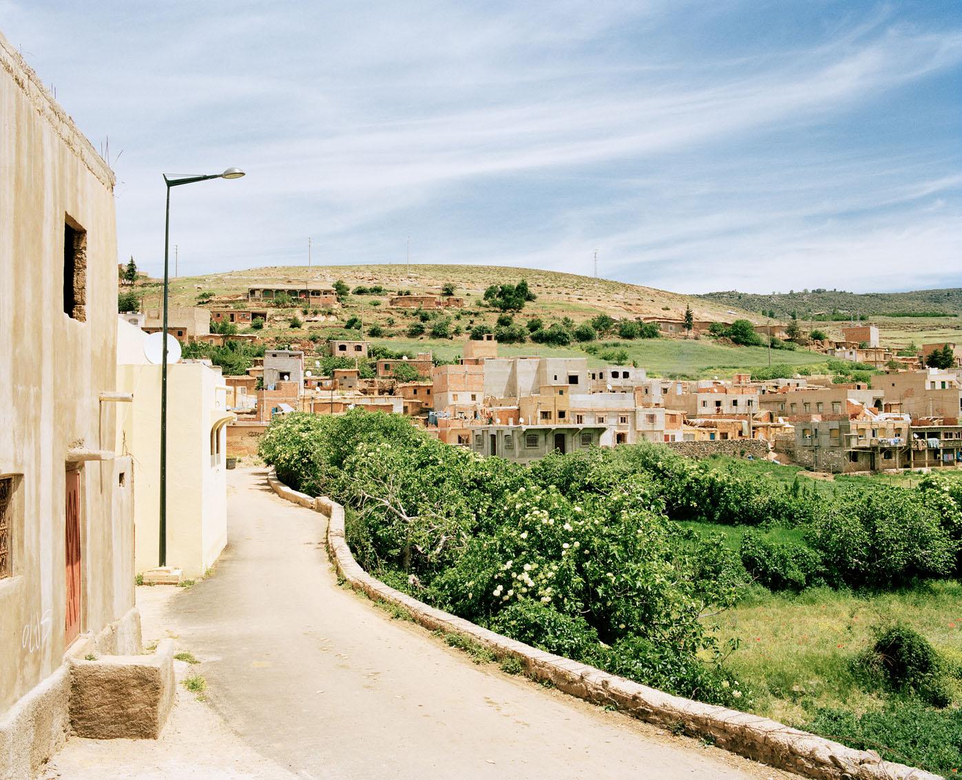Le village de Ben Smim, Maroc.