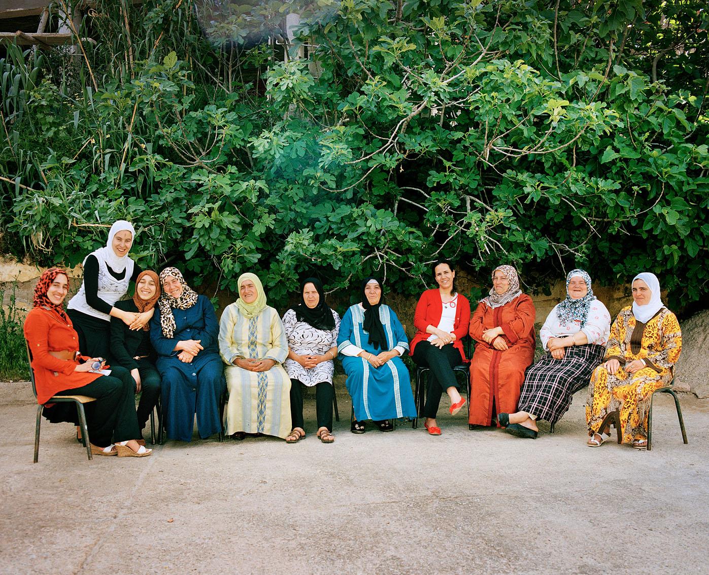 Les femmes de la coopérative Achifae (guérison en Berbère) du village de Ben Smim, Maroc.