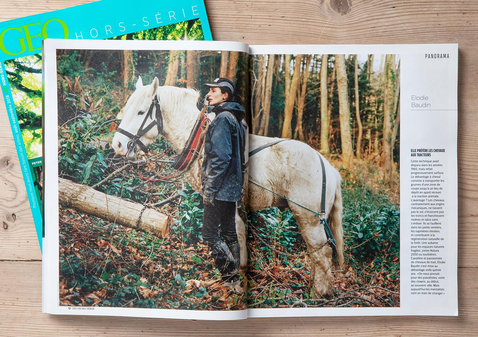 """Géo Hors-Série août-septembre 2019 """"Pourquoi avons-nous tant besoin des arbres"""""""