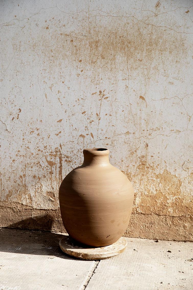 Artisan potier, Nabeul, Tunisie