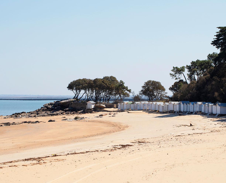 Samedi 11 avril 2020, Plage des Dames, île de Noirmoutier.
