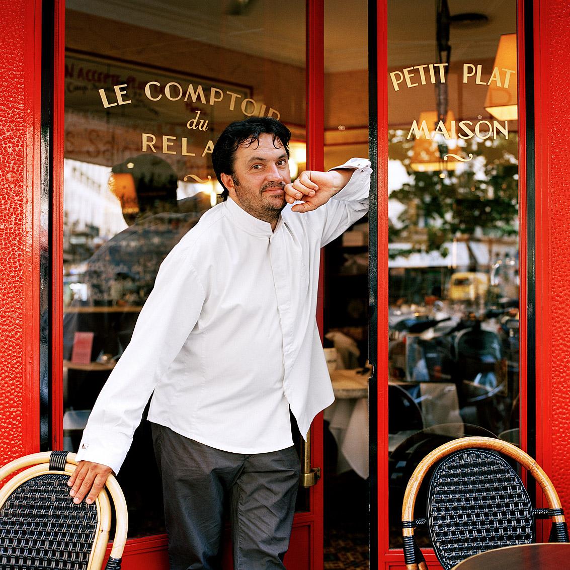 Yves Camdeborde, chef cuisinier, Paris