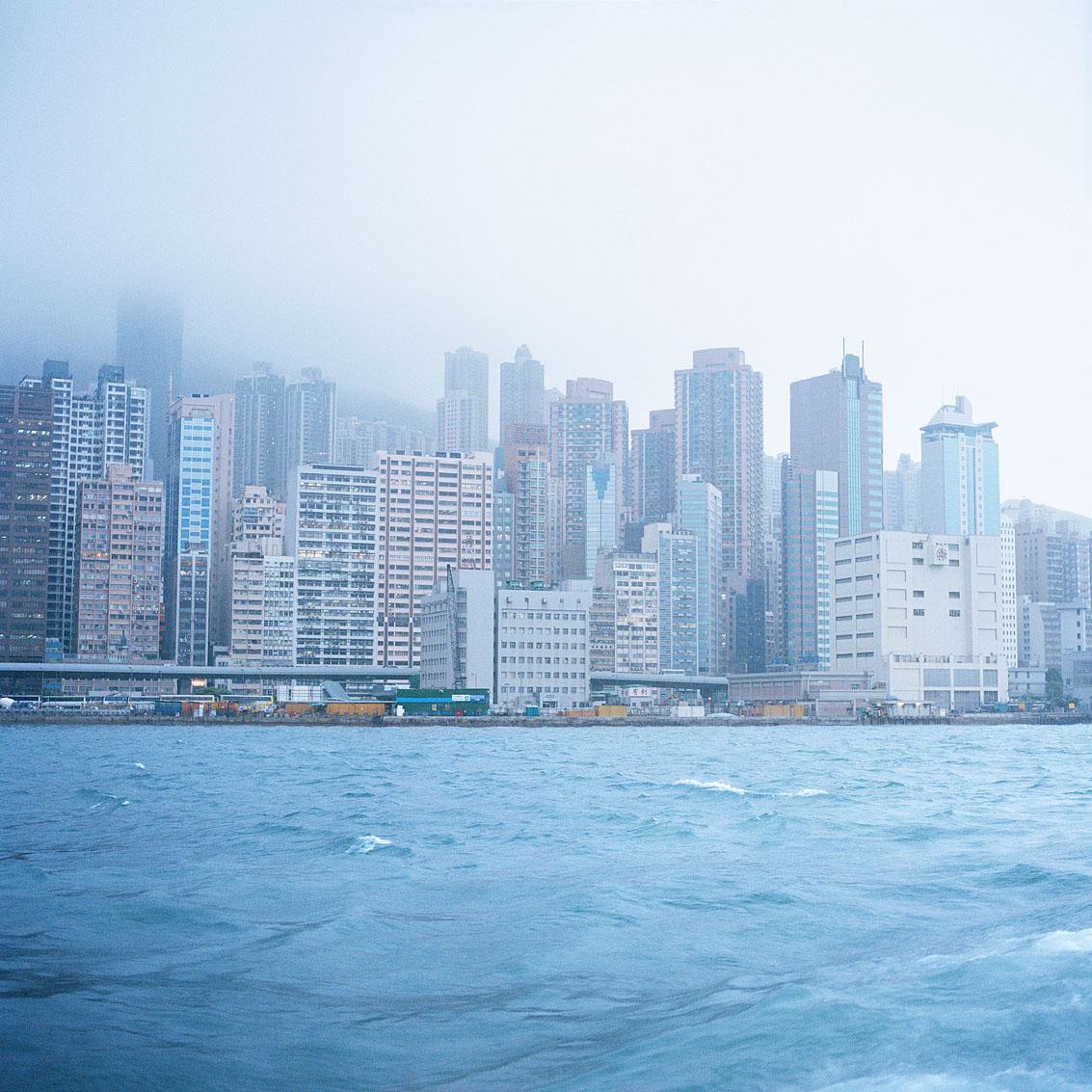 La baie de Hong Kong.