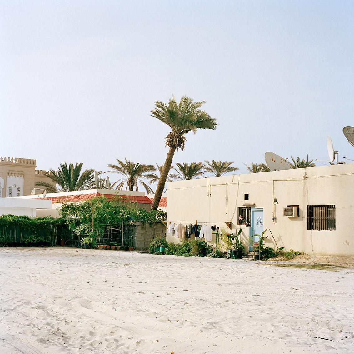 Quartier résidentiel près de la grande mosquée de Jumeirah; Dubaï.