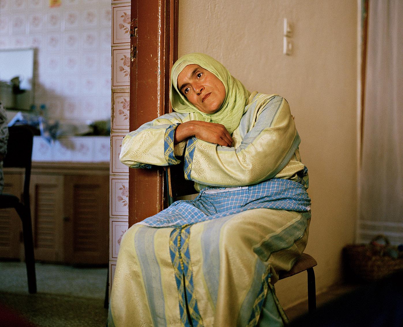 L'une des femmes de la coopérative de femmes Achifae (guérison en Berbère) du village de Ben Smim, Maroc.