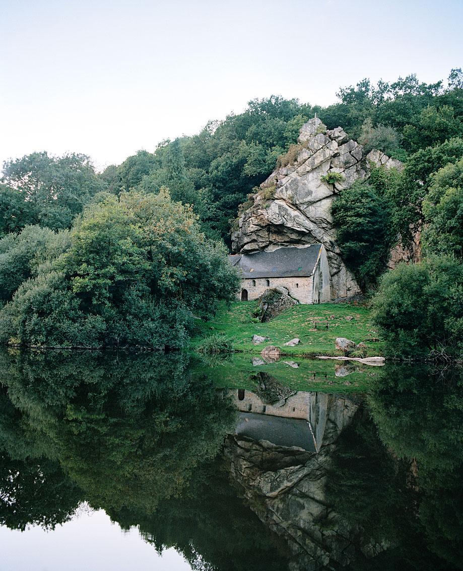 La chapelle Saint-Gildas, Morbihan.