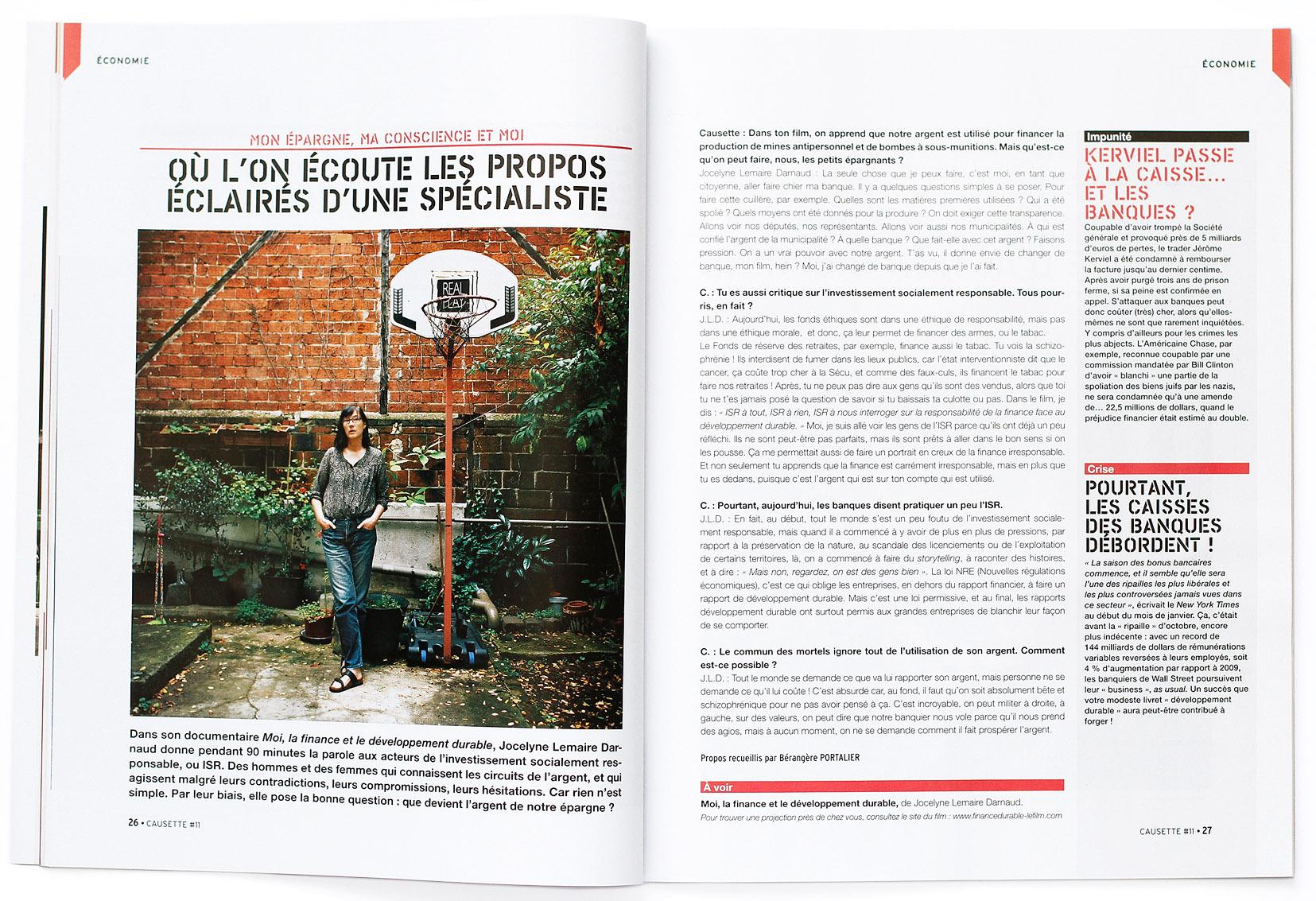 Jocelyne Lemaire Darnaud, Causette #11