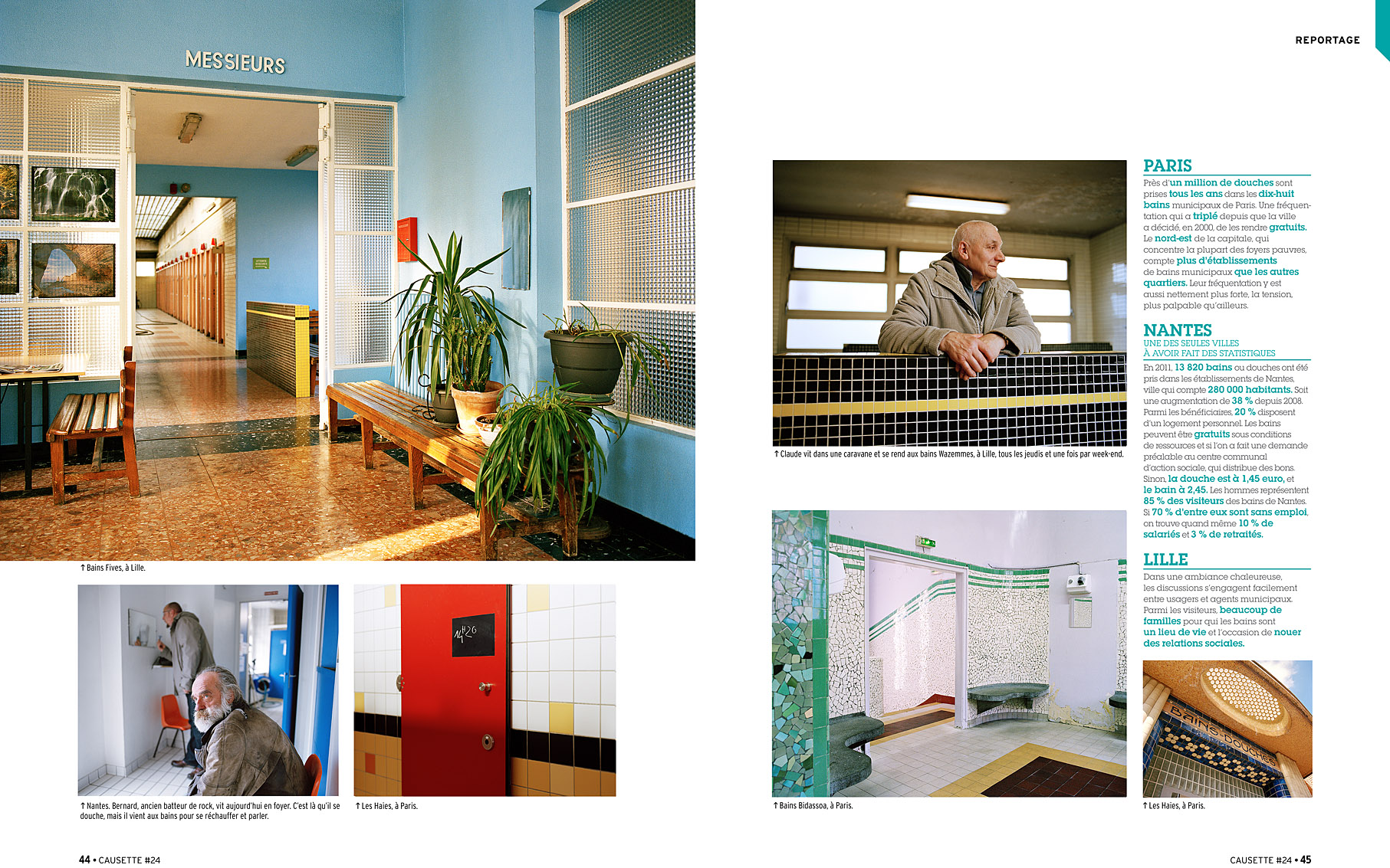 Bains-Douches, Causette #24