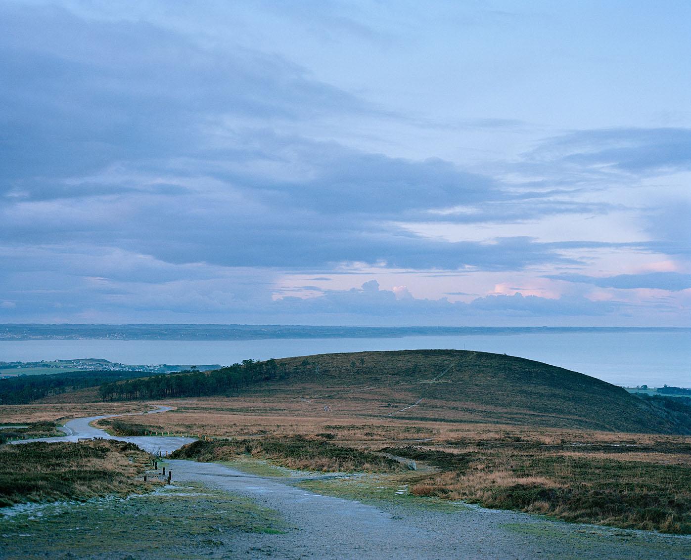 Baie de Douarnenez depuis le Menez Hom, Finistère.