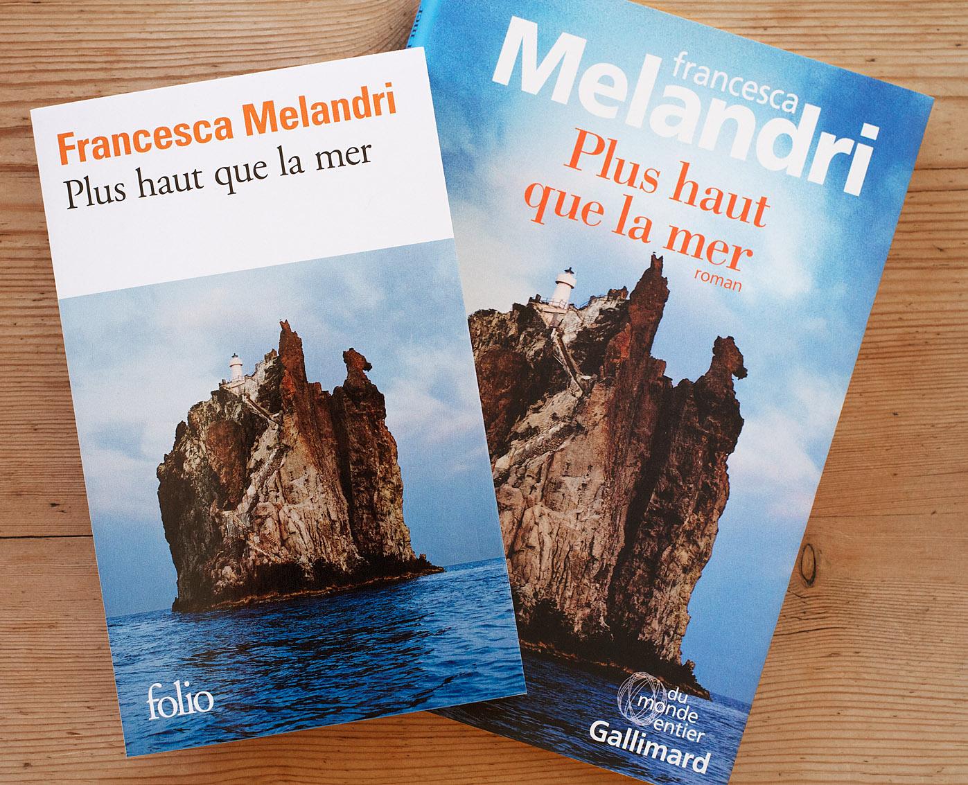 """Plus que la mer"" Francesca Melandri, Editions Gallimard"