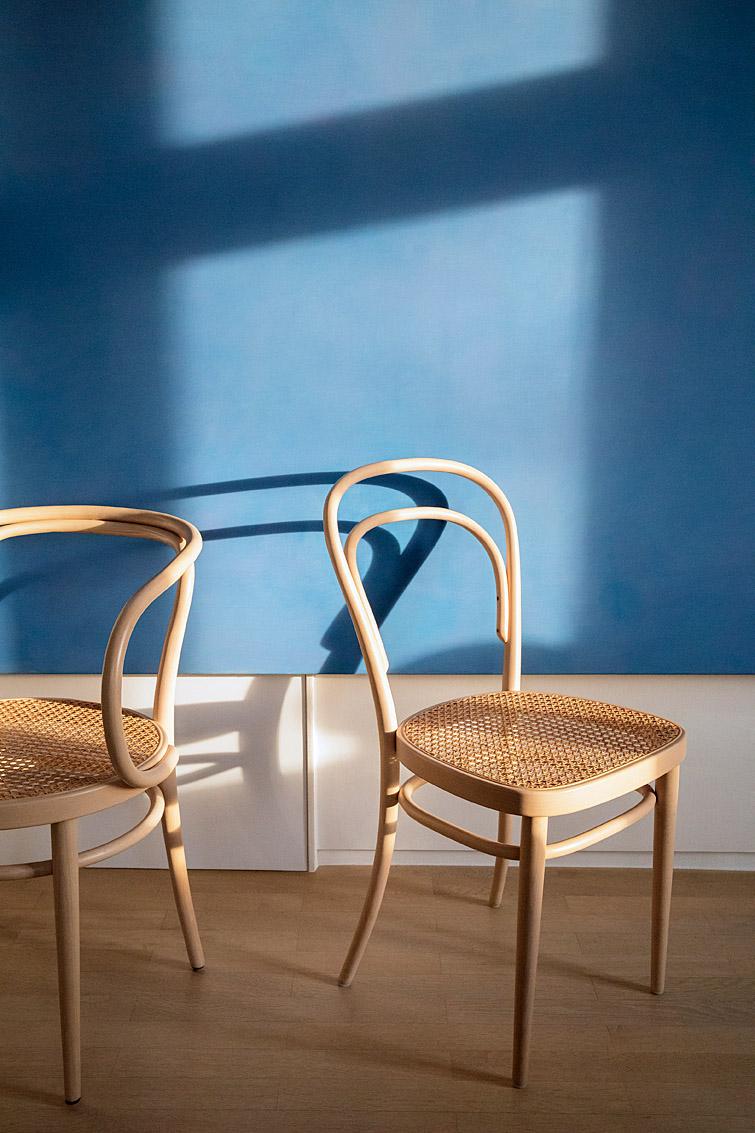 Les chaises Thonet 214 et 209, Frankenberg, Allemagne.