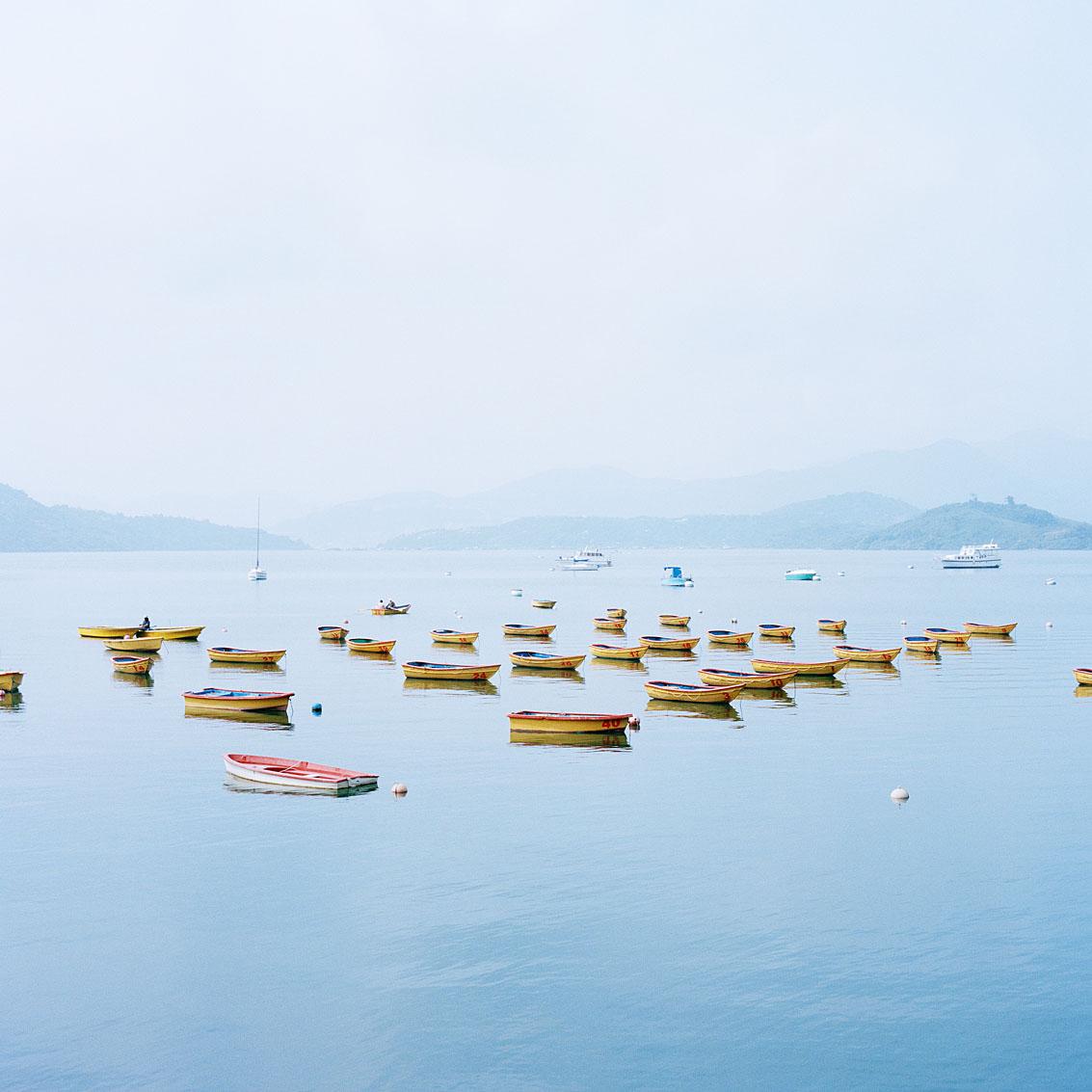 Tai Mei Tuk, nouveaux territoires de Hong Kong.