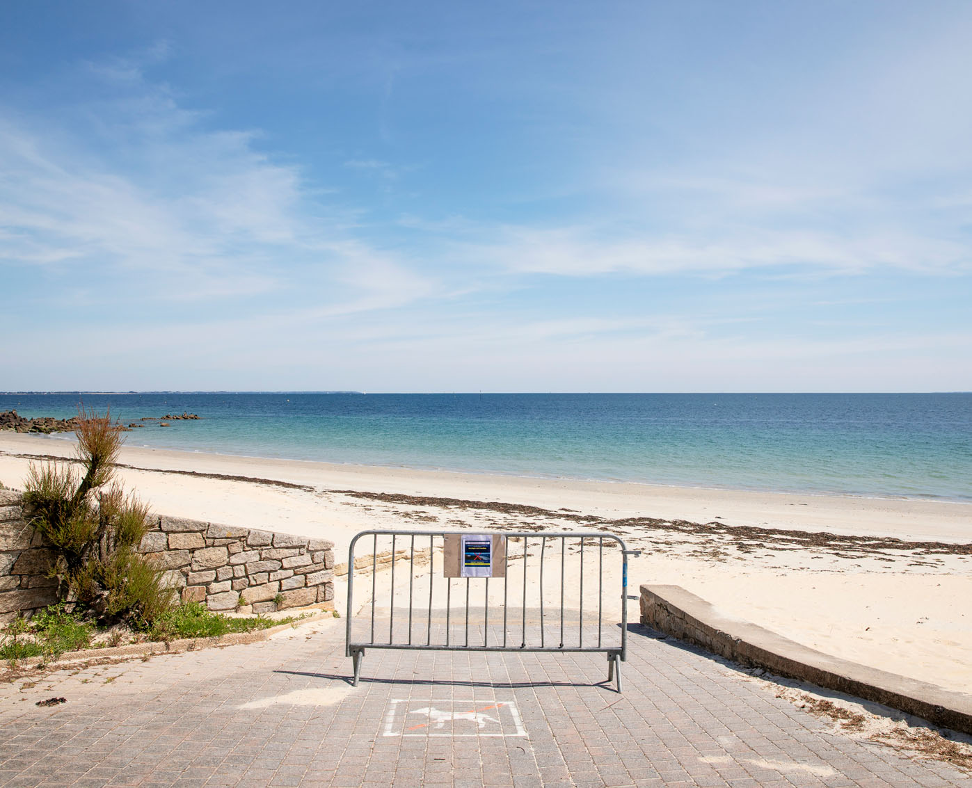 Samedi 17 mai 2020, plage de Légenèse à Carnac