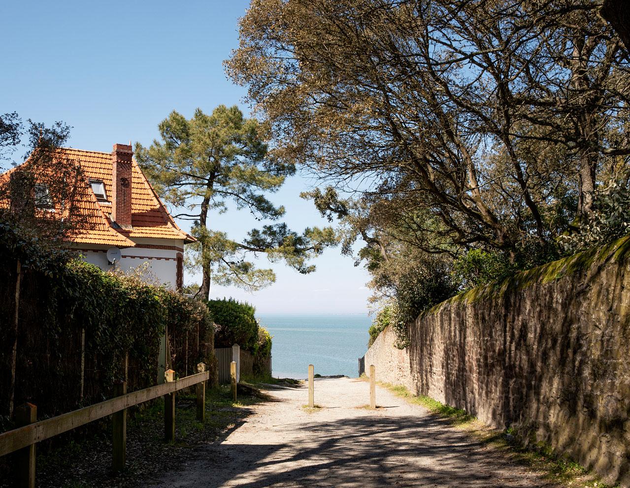Samedi 11 avril 2020, Chemin d'accès à la plage des Souzeaux, île de Noirmoutier.